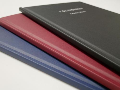 Hardcoverbindung schwarz grau blau boudeaux modern Diplomarbeiten Masterarbeiten Bachelorarbeiten Abschlussarbeiten Facharbeit